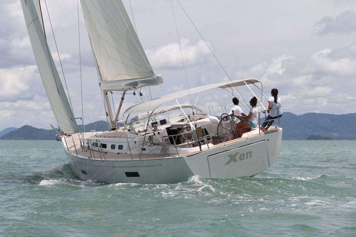 X yachts, XC 45, X cruising, luxury yacht, sailboat